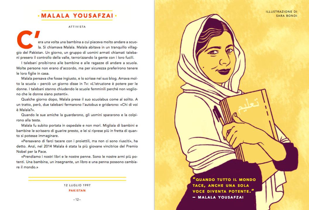 Storie della buonanotte - Malala Yousafzai