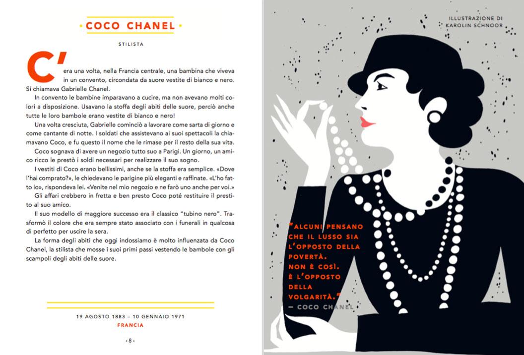 Storie della buonanotte - Coco Chanel