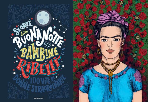 Libri per bambini - Storie della buonanotte per bambine ribelli