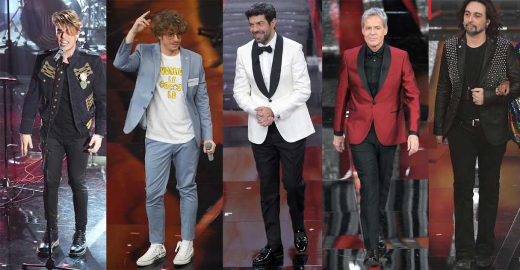 migliori look uomo Sanremo 2018