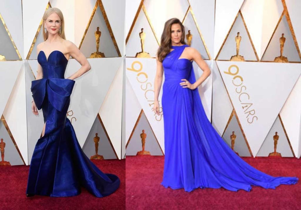 Look Oscar 2018 Nicole Kidman in Armani Privé Jennifer Garner in Atelier Versace