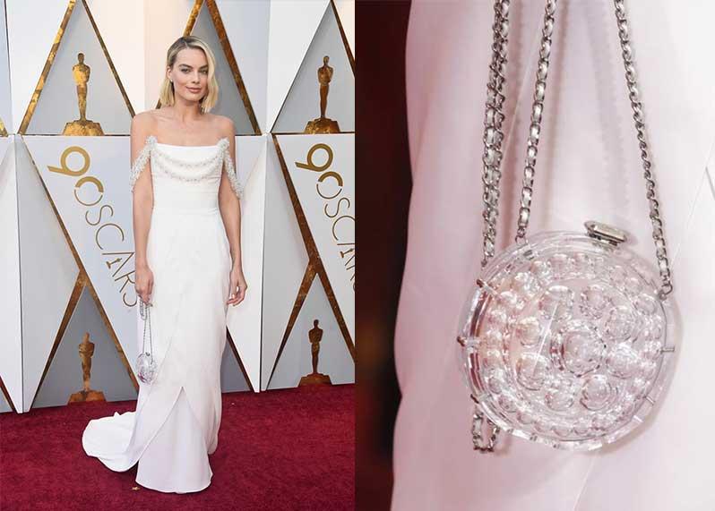 Oscar 2018 il look di Margot Robbie in Chanel Haute Couture