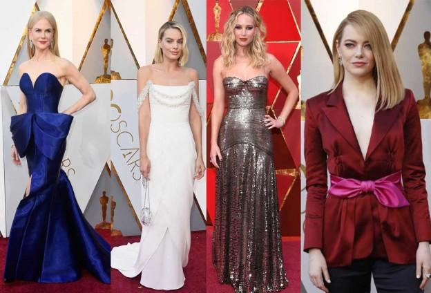 Look Oscar 2018