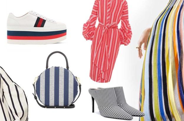 Tendenza moda estate 2018: righe in ogni direzione